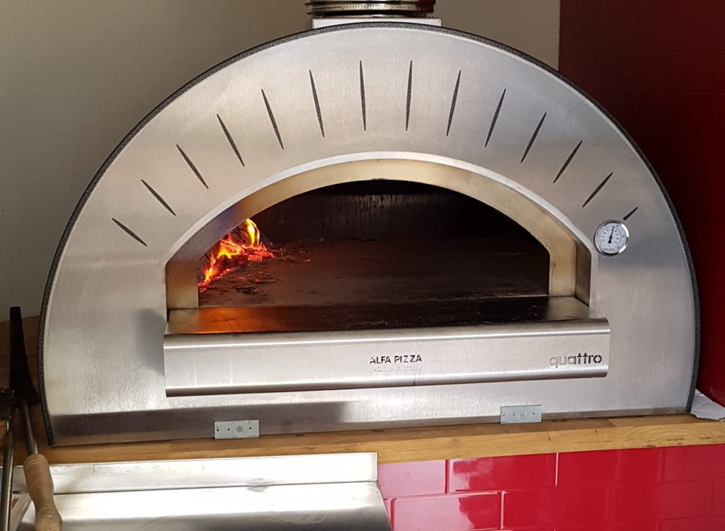 Our Alfa Quattro Wood Fired Pizza Oven